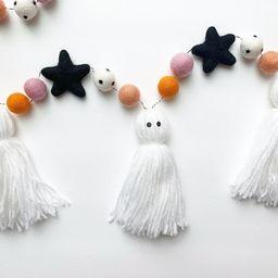 Halloween Decor | Ghost Garland | Halloween Garland | Halloween Banner | Ghost and Star Garland | Etsy (US)