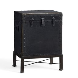 """Ludlow 18.5"""" Trunk End Table   Pottery Barn (US)"""