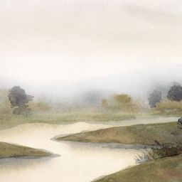 Winding River   Collection Prints