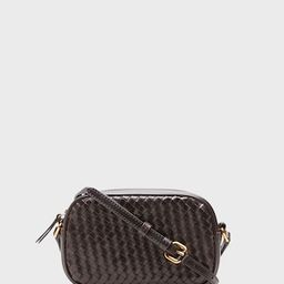 Woven Leather Crossbody Bag   Banana Republic (US)