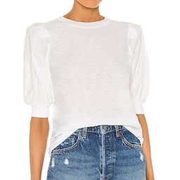 Rimma Tee in White   Revolve Clothing (Global)