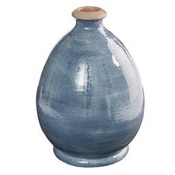 Ariel Terracotta Blue Vase | Ballard Designs, Inc.