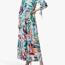 Great Plains Tropical Maxi Dress, White/Multi | John Lewis (UK)