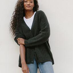 Cashmere Cocoon Cardigan - Charcoal | Jenni Kayne | Jenni Kayne