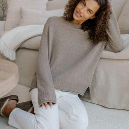 Everyday Sweater - Taupe | Jenni Kayne | Jenni Kayne