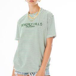 Beverly Hills Striped Tee | EllandEmm