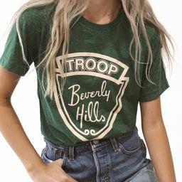 Beverly Hills- Green Tee | EllandEmm
