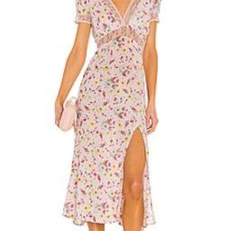 LPA Davenport Dress in Florenza Print from Revolve.com | Revolve Clothing (Global)