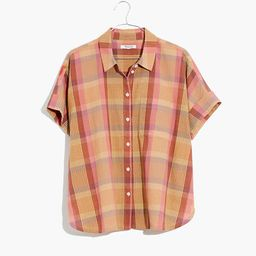Daily Shirt in Neon Madras Plaid | Madewell