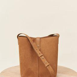 Mini Oiled Leather Bucket Bag - Walnut | Jenni Kayne | Jenni Kayne