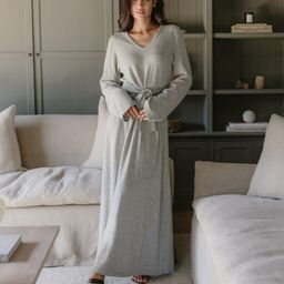 Everyday Kate Sweater Dress - Heather Grey | Jenni Kayne | Jenni Kayne