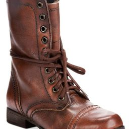 Steve Madden Women's Troopa Lace-up Combat Boots & Reviews - Boots - Shoes - Macy's | Macys (US)