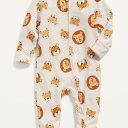 Unisex Printed Sleep & Play Footed One-Piece for Baby | Old Navy (US)