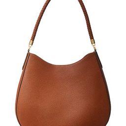 Lauren Ralph Lauren Charli Leather Shoulder Bag & Reviews - Handbags & Accessories - Macy's | Macys (US)