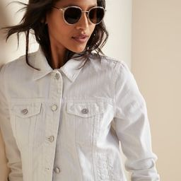 White Jean Jacket for Women | Old Navy (US)