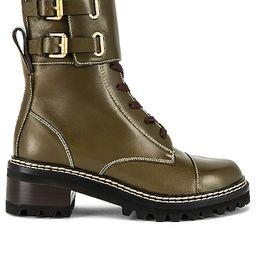 Mallory Boot in Khaki   Revolve Clothing (Global)