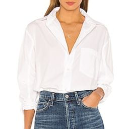 Citizens of Humanity Kayla Shirt in Optic White from Revolve.com | Revolve Clothing (Global)