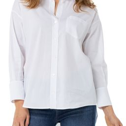 Oversize Classic Button-Up Shirt | Nordstrom | Nordstrom