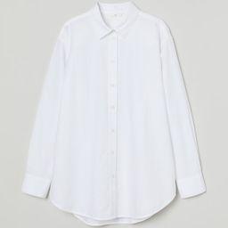 Oversized Oxford Shirt | H&M (US)