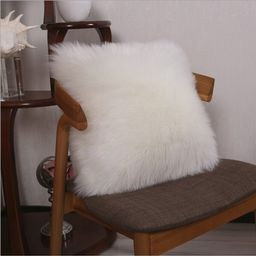 Wensley Square Faux Fur Pillow Cover | Wayfair North America