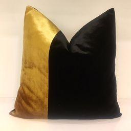 Luxury Black Velvet Pillow Cover Velvet Pillows Black | Etsy | Etsy (US)