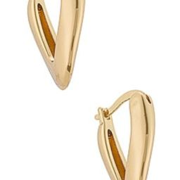 Amber Sceats Hoop Earrings in Gold from Revolve.com | Revolve Clothing (Global)