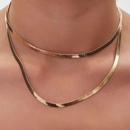Omega Chain Necklace Set | Forever 21 (US)