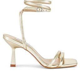 Steve Madden Kyrah Sandal in Gold from Revolve.com | Revolve Clothing (Global)