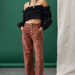 Pilcro The Arch Tapered Pants | Anthropologie (US)