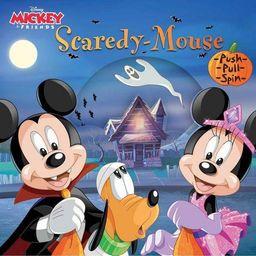 Disney Mickey & Friends: Scaredy-Mouse - by  Courtney Acampora (Board Book) | Target