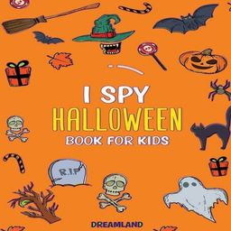 I Spy Halloween Book For Kids - by  Dreamland Publishing (Paperback) | Target