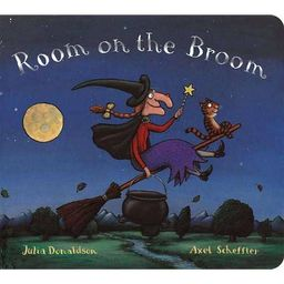 Room on the Broom (Reprint) - by Julia Donaldson (Board Book) | Target