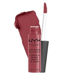 NYX PROFESSIONAL MAKEUP Soft Matte Lip Cream, Lightweight Liquid Lipstick - Budapest (Deep Mauve ...   Amazon (US)