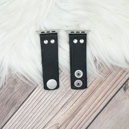 Limited Edition Skinny Band in Upcycled Black Micro GG | Spark*l
