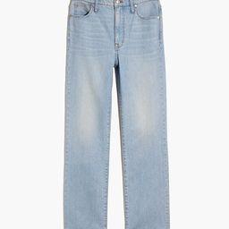 Slim Demi-Boot Jeans in Bellmeade Wash   Madewell
