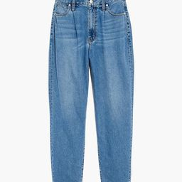 Baggy Tapered Jeans in Jewell Wash   Madewell