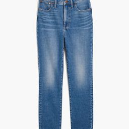 The Perfect Vintage Crop Jean in Sandford Wash: Summerweight Edition   Madewell