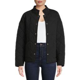 Time and Tru Women's Quilted Jacket - Walmart.com | Walmart (US)