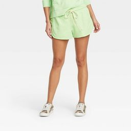 Women's Mid-Rise French Terry Pull-On Shorts - Universal Thread™ | Target