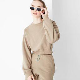 Women's Cropped Sweatshirt - Wild Fable™ | Target