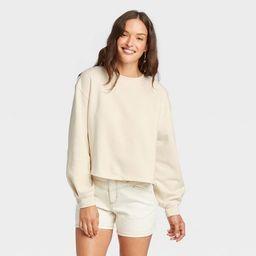 Women's Shrunken Sweatshirt - Universal Thread™ | Target
