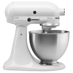 KitchenAid Classic Series 4.5 Quart Tilt-Head White Stand Mixer - Walmart.com | Walmart (US)