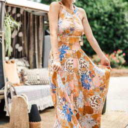 Newell Dress - Orange   Petal & Pup (US)