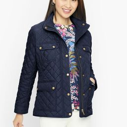 Quilted Snap Front Jacket | Talbots