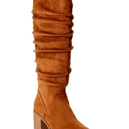 Time and Tru - Time and Tru Women's Tall Slouch Boots - Walmart.com | Walmart (US)