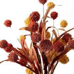 Wesail Handmade Artificial Flowers, Thistle Globe Echinops Bouquet , Plastic Fake Greenery Bush ,...   Amazon (US)