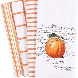 KAF Home Pantry Kitchen Holiday Dish Towel Set of 4, 100-Percent Cotton, 18 x 28-inch (Pumpkin Wo...   Amazon (US)