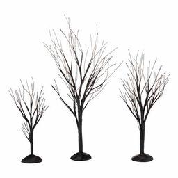 dept56 black bare branch trees, set of 3 | Walmart (US)