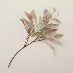 """22"""" Faux Rusted Eucalyptus Leaf Plant Stem - Hearth & Hand™ with Magnolia 