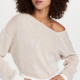 Favorite Off Shoulder Ribbed Sweater | Shopbop